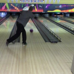 Photo taken at Bowlero Lanes by Meagan W. on 1/6/2013