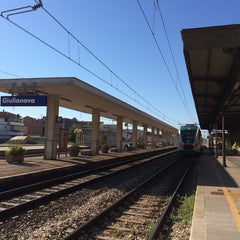 Photo taken at Stazione Giulianova by Anzhela F. on 6/29/2014