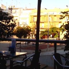 Photo taken at Plaça de la Muralla by Clara M. on 11/14/2013