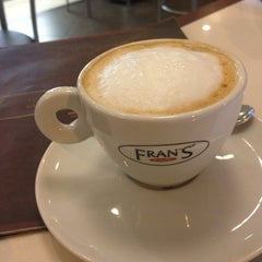 Photo taken at Fran's Café by Bruno C. on 4/8/2013