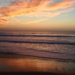 Photo taken at Gazos Creek Beach by Meg on 1/25/2014