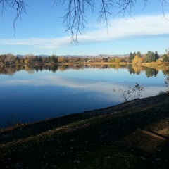 Photo taken at Huston Lake Park by Chris Gibson -. on 10/30/2012