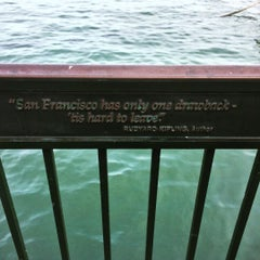Photo taken at Pier 3 by Emily F. on 9/27/2015