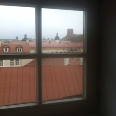 Photo taken at Vilniaus universiteto Filosofijos fakultetas by Irma Z. on 3/7/2014