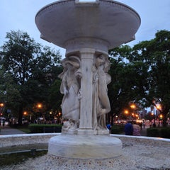 Photo taken at Dupont Circle by Tim S. on 5/11/2013