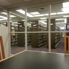 Photo taken at Kilmer Library by Robert P. on 2/28/2013