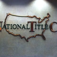 Photo taken at National Title Company by JohnFreitag R. on 12/17/2012