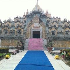 Photo taken at วัดป่ากุง (วัดประชาคมวนาราม) by Pacharee Y. on 8/22/2015