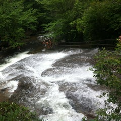 Photo taken at Sliding Rock by Marne S. on 7/14/2013
