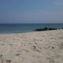 Photo taken at Karge Street Beach by Beth G. on 8/21/2013