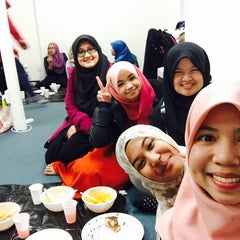 Photo taken at Student Islamic Centre by Syeera Z. on 6/26/2015