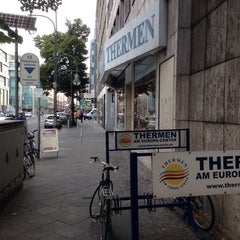 Photo taken at Thermen am Europa-Center by David L. on 6/16/2014