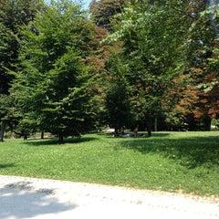 Photo taken at Parco Sempione by Francesco P. on 7/21/2013