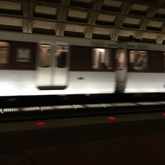 Photo taken at WMATA Red Line Metro by Mark N. on 12/7/2015