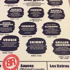 Photo taken at Burger Republic by Adrien H. on 9/14/2014