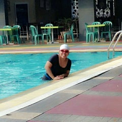 Photo taken at Sagara swimming pool by Hara H. on 6/7/2014