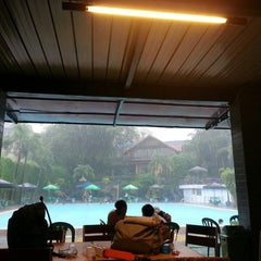 Photo taken at Sagara swimming pool by Hara H. on 12/21/2014