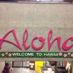 Photo taken at Honolulu International Airport (HNL) by Doreen C. on 6/19/2013