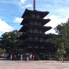 Photo taken at Japan Pavilion by Andy D. on 12/16/2012