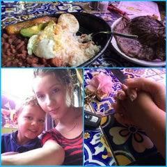 Photo taken at Los Recuerdos Restaurante & Taberna by Gelizita P. on 6/20/2014