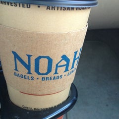 Photo taken at Noah's New York Bagels by Martin C. on 7/23/2013
