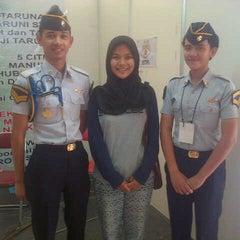 Photo taken at Sekolah Tinggi Pertanahan Nasional (STPN) by Lulu S. on 5/25/2014