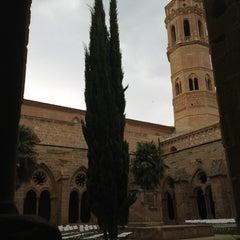 Photo taken at Monasterio de Rueda by Jesús P. on 7/19/2013
