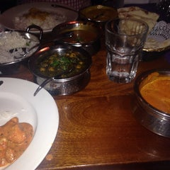 Photo taken at Brick Lane Curry House by Anthony L. on 5/9/2014
