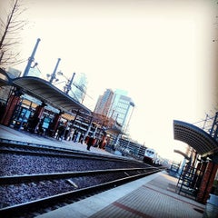 Photo taken at Victory Station (DART Rail / TRE) by Andy Y. on 2/14/2013