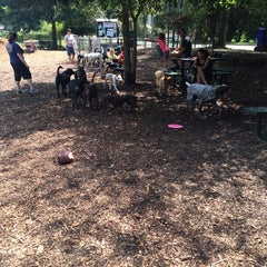 Photo taken at Oakhurst Dog Park by May W. on 9/7/2014