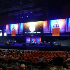 Photo taken at Sentul International Convention Center (SICC) by sugie w. on 1/12/2016