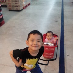 Photo taken at Carrefour by Nandang P. on 1/25/2014