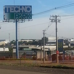 Photo taken at Techno Park by Paulo C. on 8/31/2013