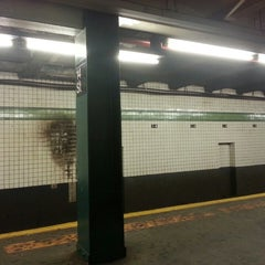 Photo taken at MTA Subway - M Train by Peter R. on 7/18/2013