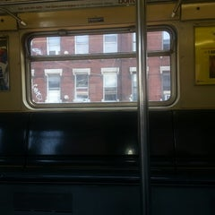 Photo taken at MTA Subway - J Train by Peter R. on 7/29/2013