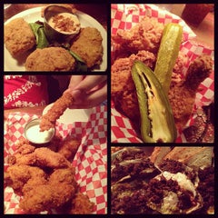 Photo taken at Lucy's Fried Chicken by Jennifer on 11/29/2012