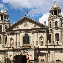 Photo taken at Minor Basilica of the Black Nazarene (Quiapo Church) by Lin V. on 10/29/2012