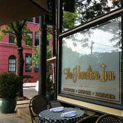 Photo taken at The Hamilton Inn by Tom D. on 5/31/2013