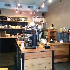 Photo taken at Spitfire Coffee by Jessica B. on 9/18/2014