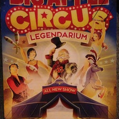 Photo taken at Big Apple Circus by Teresa L. on 5/19/2013