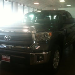 Photo taken at Capitol Toyota by Anna L. on 10/11/2013