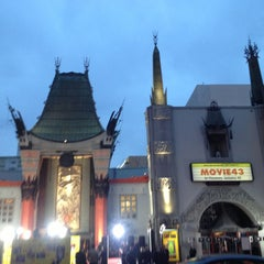 Photo taken at TCL Chinese Theatre by Matthew H. on 1/24/2013