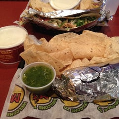 Photo taken at Moe's Southwest Grill by Meghan H. on 9/19/2013