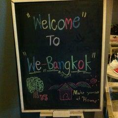 Photo taken at WE Bangkok Hostel by Justine L. on 9/7/2013