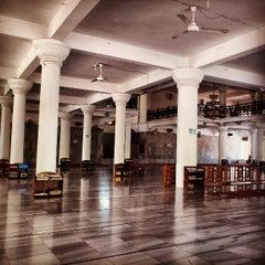 Photo taken at Masjid Agung Al-Falah by Rudi N. on 4/21/2013