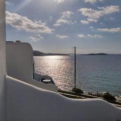 Photo taken at Hotel Poseidon by Panayotis S. on 4/3/2015