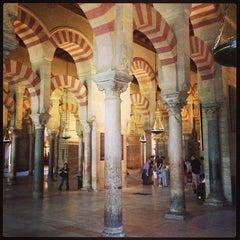Photo taken at Mezquita-Catedral de Córdoba by Alex C. on 4/19/2013