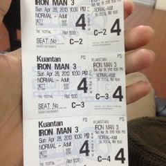 Photo taken at BIG Cinemas by Abu W. on 4/28/2013