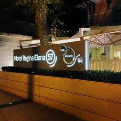 Photo taken at Hotel Regina Elena 57 by Simon L. on 10/27/2013