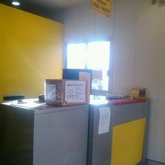 Photo taken at DHL Express by Monsh L. on 3/12/2014
